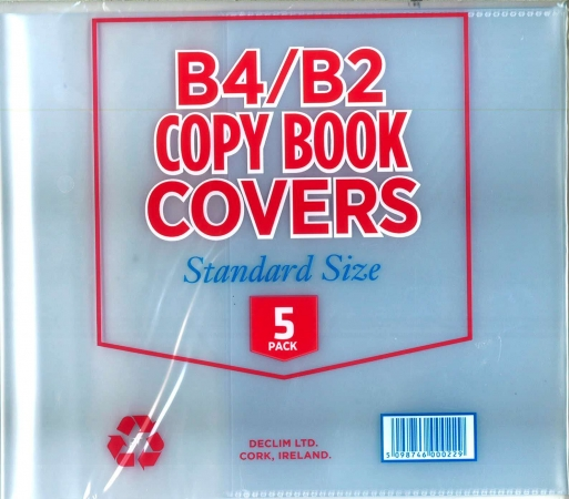 Copy Covers B4 & B2 5 Pack- Filfix Standard Size