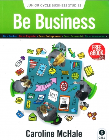 Be Business Textbook - Junior Cycle Business Studies - Includes Free eBook