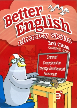 Better English 3 - Literacy Skills Activity Book - Third Class