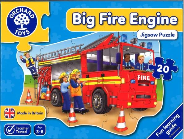 Big Fire Engine Jigsaw