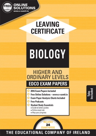 Leaving Cert Biology Higher & Ordinary Levels - Includes 2018 Exam Papers