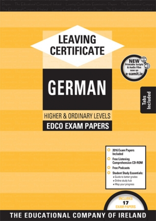Leaving Cert German Higher & Ordinary Levels - Includes 2018 Exam Papers