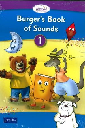 Burger's Book of Sounds 1 Pack - Includes Take-Home Decodable Books - Wonderland Stage One - Junior & Senior Infants