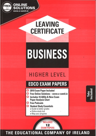 Leaving Cert Business Higher Level - Includes 2019 Exam Papers