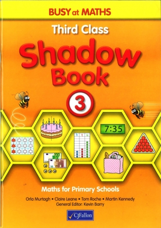 Busy At Maths 3 Shadow Book - Third Class