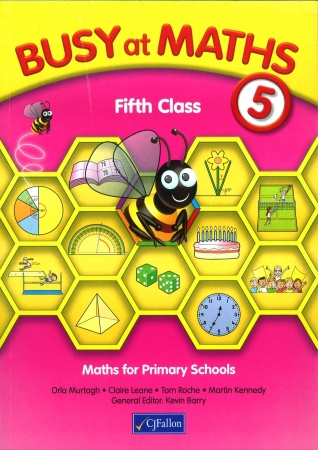 Busy At Maths 5th Class - Textbook