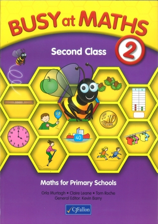 Busy At Maths 2nd Class - Textbook