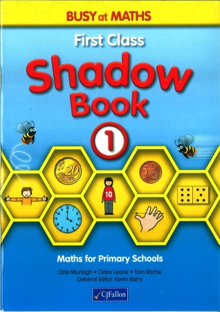 Busy At Maths 1 Shadow Book - First Class