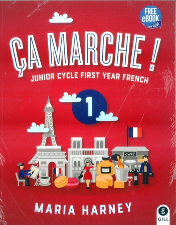 Ça Marche! 1 Pack - Textbook & Student Portfolio - Junior Cycle First Year French
