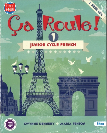 Ca Roule 1 Pack - Textbook & Workbook - Junior Cycle French - Includes Free eBook