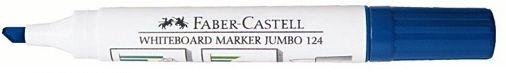Faber-Castell Blue Chisel Whiteboard Marker