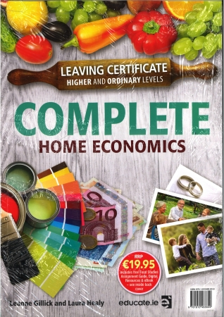 Complete Home Economics Pack Textbook & Food Studies Assignment Guide Leaving Certificate Higher & Ordinary Levels