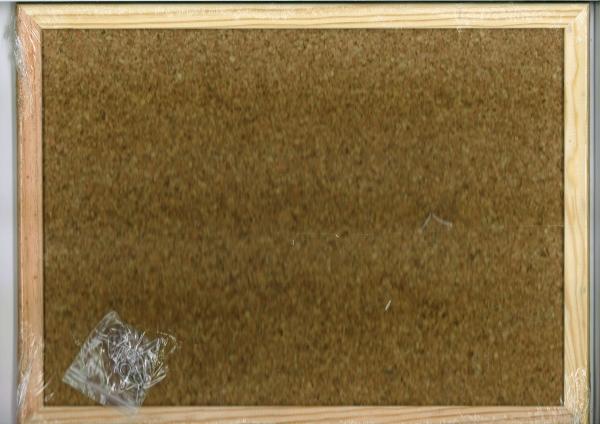 Cork Noticeboard 90cmx60cm