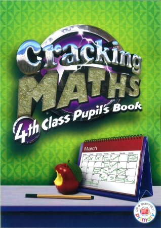 Cracking Maths 4th Class - Textbook