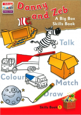 Danny & Zeb - Skills Book 1 - Big Box Adventures - Junior Infants