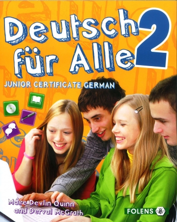 Deutsch Für Alle 2 - Textbook & Cd - Junior Certificate German