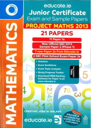 Junior Cert Maths Ordinary Level - Includes 2013 Offial Sample Exam Paper
