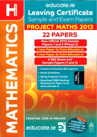 Leaving Cert Maths Higher Level - Includes 2015 Exam Paper