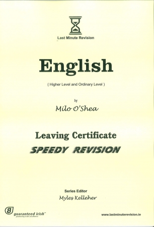 Last Minute Revision LC English - Higher & Ordinary Level