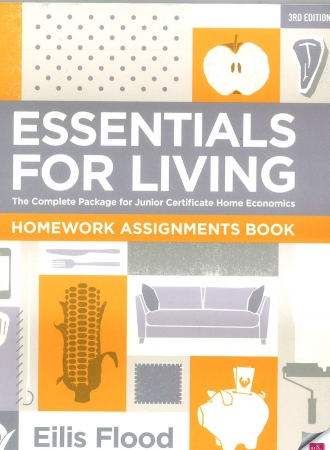 Essentials For Living Workbook - Homework Assignments Book - 3rd Edition