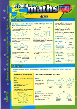 Essential Study Guide Maths: Shape/Space/Measurement/Data