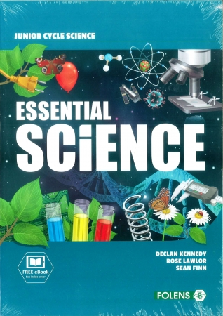 Essential Science Junior Cycle Science Pack - Textbook, Workbook & Student Laboratory Workbook