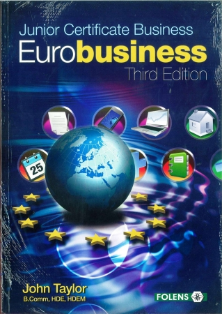 Eurobusiness Pack 3rd Edition - Textbook & Workbook - Junior Certificate Business Studies