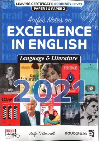 Aoife's Notes On Excellence In English Language & Literature 2021 -  Leaving Certificate Ordinary Level - Free eBook