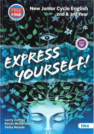 Express Yourself Pack - Textbook & Workbook - New Junior Cycle English 2nd & 3rd Year - Includes Free eBook