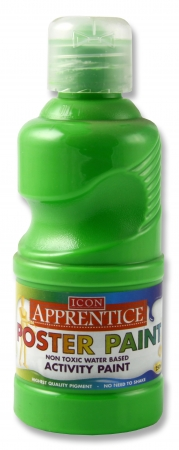Poster Paint Flourescent Green 250ml