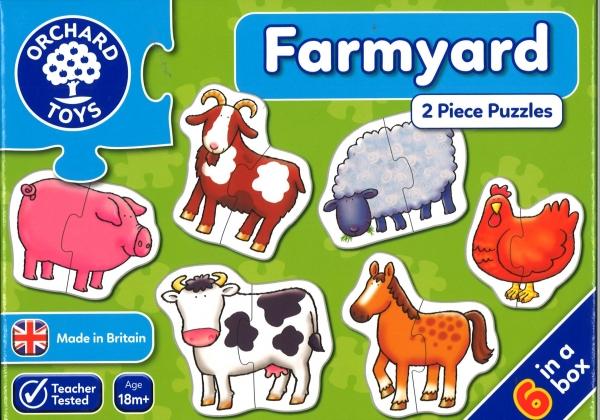 Farmyard jigsaws