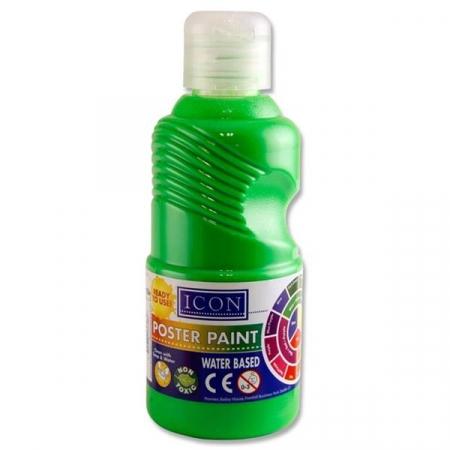 Poster Paint Flourescent Green 250ml