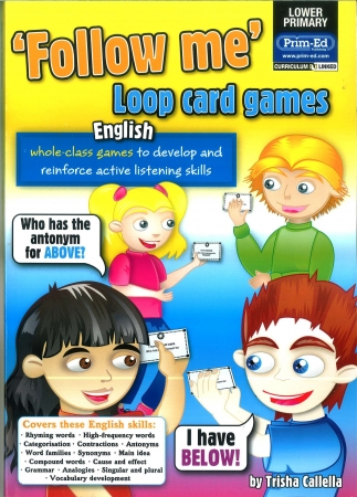 Follow Me Loop Card Games English - Lower Primary