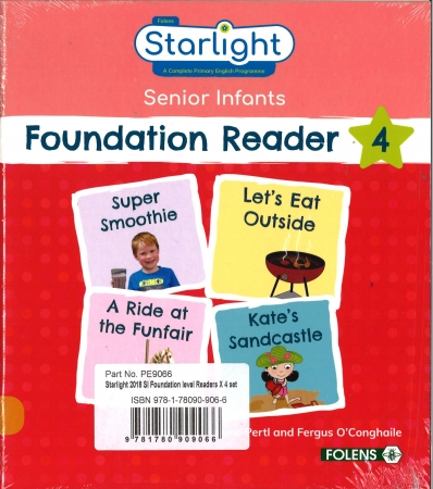 Foundation Readers Four Pack - Starlight Senior Infants
