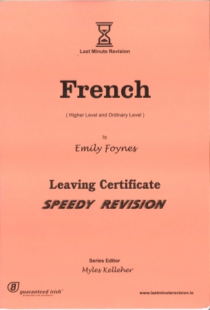 Last Minute Revision LC French - Higher & Ordinary Level