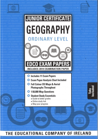 Junior Cert Geography Ordinary Level - Includes 2019 Exam Papers