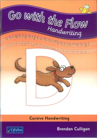 Go With The Flow D - Cursive Handwriting - Second Class