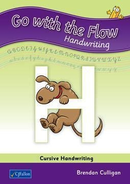 Go With the Flow H - Cursive Handwriting - Sixth class