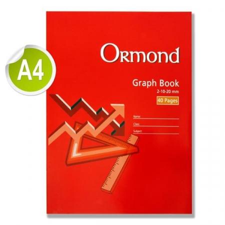 Graph Copy 40 Page A4