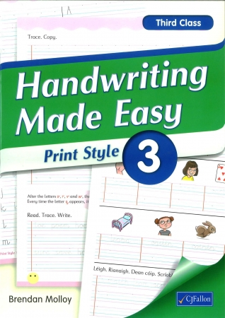 Handwriting Made Easy 3 - Print Style - Third Class