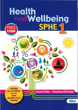 Health & Wellbeing SPHE 1 - Junior Cycle SPHE - Includes Free eBook