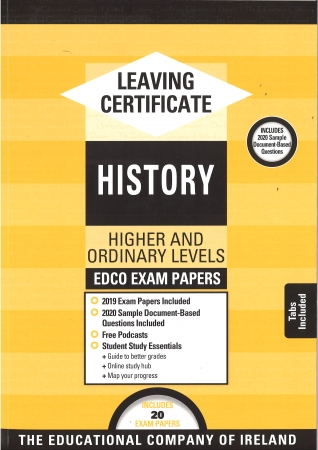 Leaving Cert History Higher & Ordinary levels - Includes 2019 Exam Papers