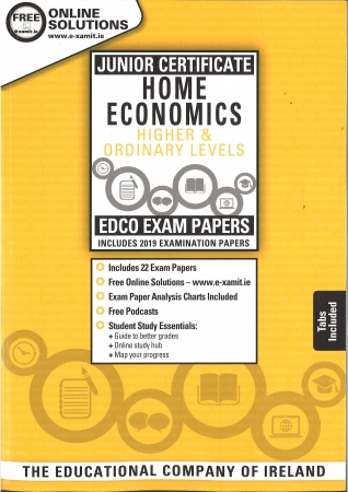 Junior Cert Home Economics Higher & Ordinary Levels - Includes 2019 Exam Papers