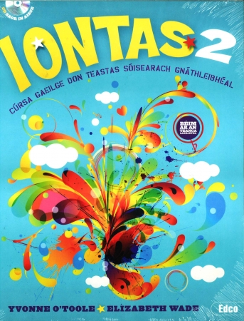 Iontas 2 Pack - Textbook & Workbook - Junior Certificate Irish Ordinary Level - Includes Free eBook
