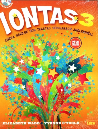 Iontas 3 Pack - Textbook & Workbook - Junior Certificate Irish Higher Level - Includes Free eBook