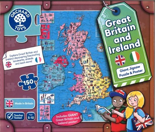 Great Britain & Ireland jigsaw