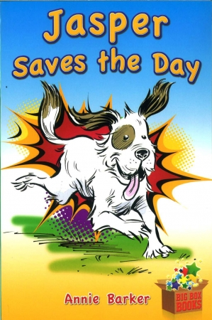 Jasper Saves The Day - Novel - Big Box Adventures - First Class