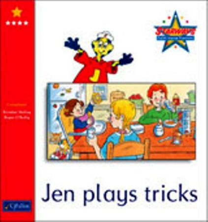 Jen Plays Tricks - Core Reader 4 - Starways Stage One  - Junior & Senior Infants