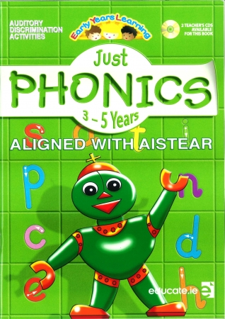Just Phonics Early Years Learning 3-5 Years - Workbook