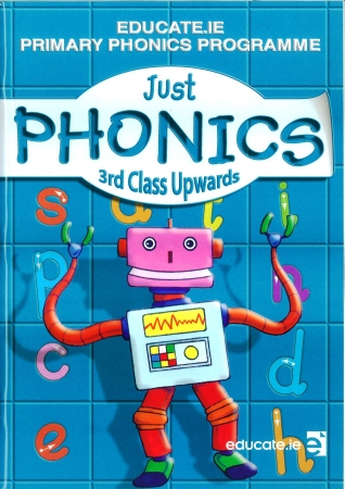 Just Phonics 3rd Class Pack - Workbook & My Spelling Booklet - Third Class
